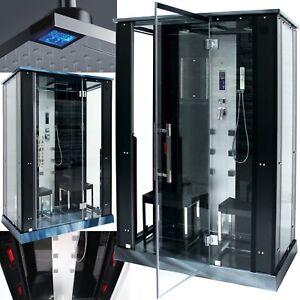 das bild wird geladen infrarot dampf dusche infrarotkabine dampfdusche dusche waermekabine idd - Infrarotkabine Kombiniert Mit Dusche