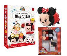 Hachette Tsum Tsum Costume knitting Bible Book Vol 1 Minnie Mouse crochet kits