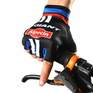 Cycling Gloves MX BMX Bicycle Mountain Bike Half Finger Sports Cycle Mitts Large
