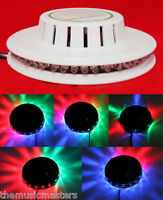 Sound Activated Colored Sunflower Led Flashing Dj Party Light Show Lamp White