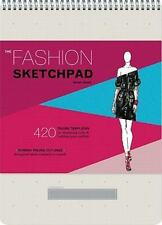 The Fashion Sketchpad : 420 Figure Templates for Designing Looks and Building Your Portfolio by Tamar Daniel (2011, Print, Other)