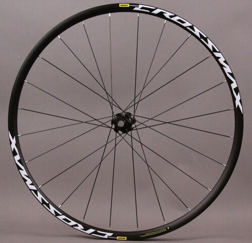 "Mavic Crossmax 27.5/"" 650b Tubeless Mountain Front Bike Wheel BOOST MSRP $249"