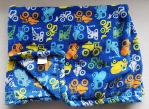 Baby-Gear-Blanket-Blue-Orange-Yellow-Cement-Dump-Truck-Blue-Lovey-Construction