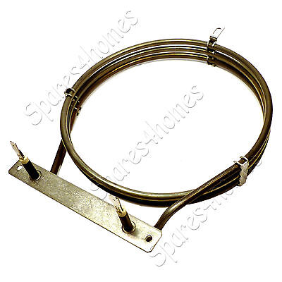 To Fit Zanussi ZCE7550BK 2500 Watt Circular Fan Oven Element