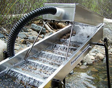 Power Sluice,12 Volt System,Portable,Hi Banker,Find Gold, Easy to Use, SCOUT1200