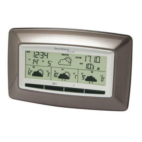 Technoline WD4005 WetterStation 4 Tage Wettervorhersage WetterDirekt Außensender