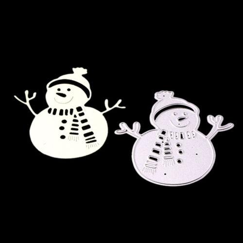 Snowman Metal Cutting Dies Stencil for DIY Scrapbook Album Paper Cards ZJHN