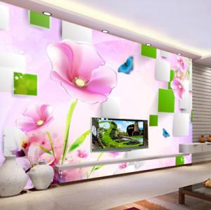 3D Sweet  Flowers 857 Wall Paper Murals Wall Print Wall Wallpaper Mural AU Kyra