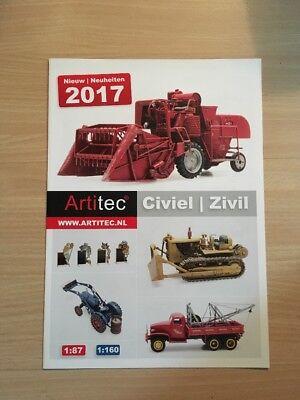 2019 Moda Artitec Prospetto Civile Novità, 2017, 4 Pagine; Nuovo-mostra Il Titolo Originale