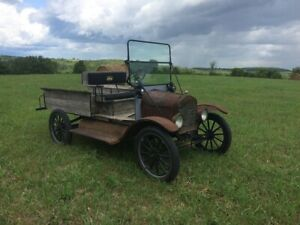 1917 Ford Model T Barn Find