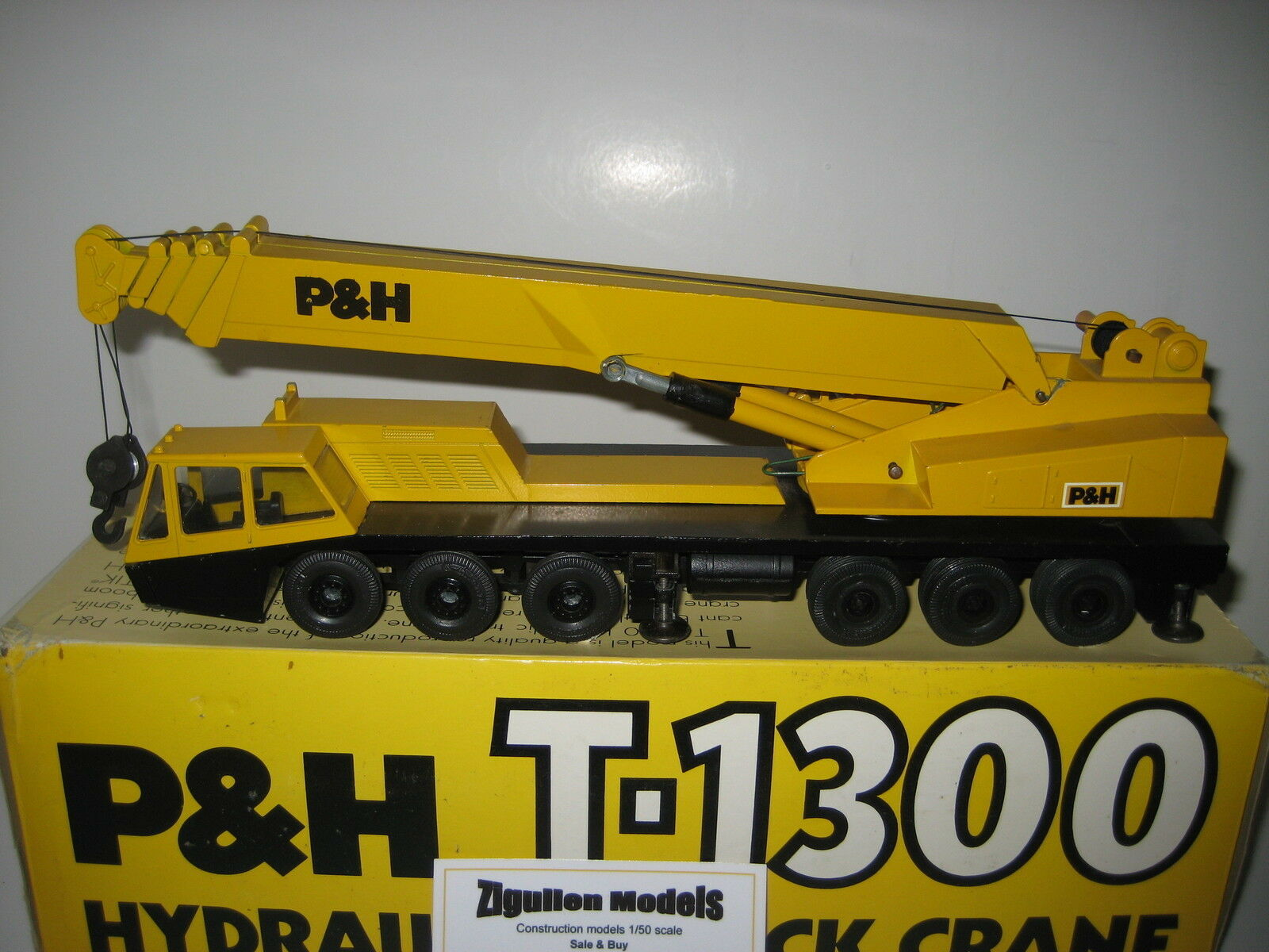 P&h T-1300 Auto Crane Metal Rims  3071.1 GESCHA 1 50 OVP