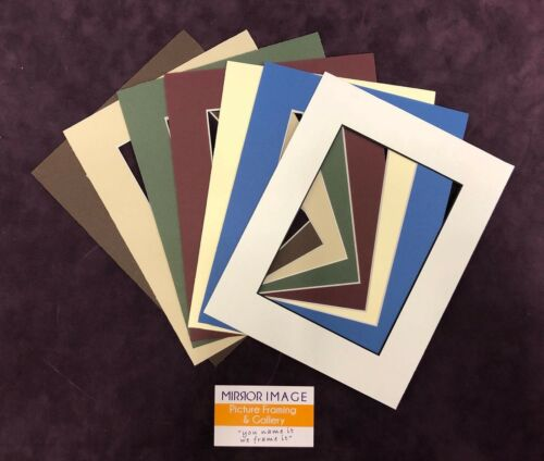 "25x 12x16"" with 8""x12"" Professional Picture Framing Mat Boards Window Bulk"