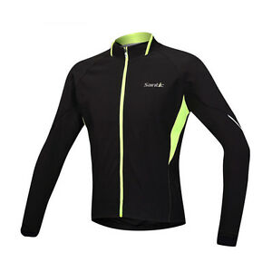 Men-039-s-Winter-Windproof-Cycling-Jacket-Bike-Bicycle-Fleece-Thermal-Jersey-M-3XL
