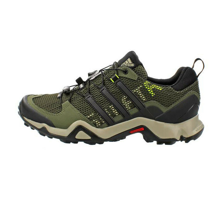 Adidas masculino 8,5 terrex SWIFT R b22811 zapatos Night Cochego   Tech Color   verde inferior