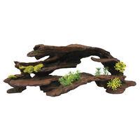 Top Fin Greenery Artificial Driftwood Aquarium Terrariums Ornaments