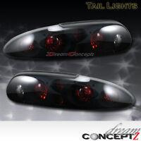93-97 98-02 Chevy Camaro Tail Lights Lamps Black Dark Smoke Pair 95 96 99