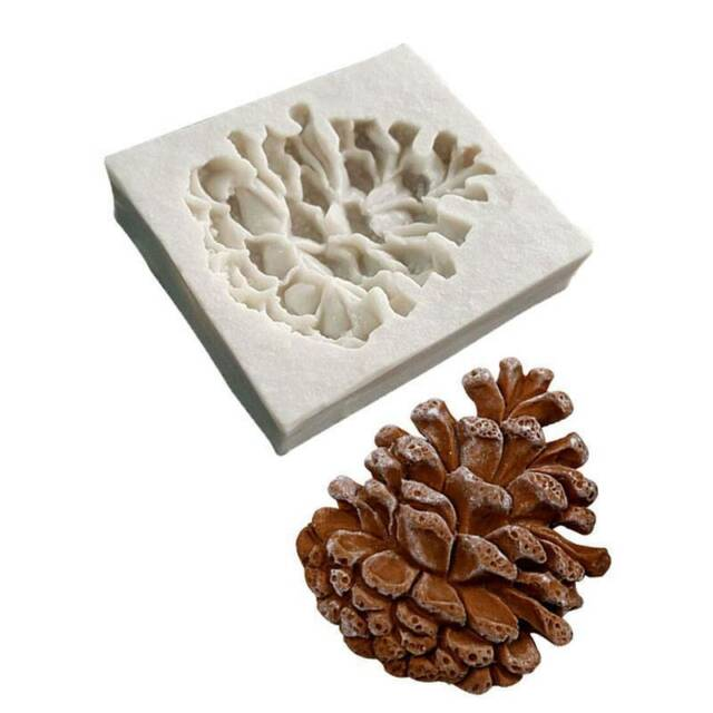 Pine Cone Nuts Silicone Mould Fondant Sugarcraft Chocolate Mold Cake Tools