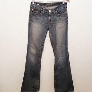 bd5b098d945 Big Star Blue Maddie Boot Cut Mid Rise Fit Medium Wash Stretch Jeans ...