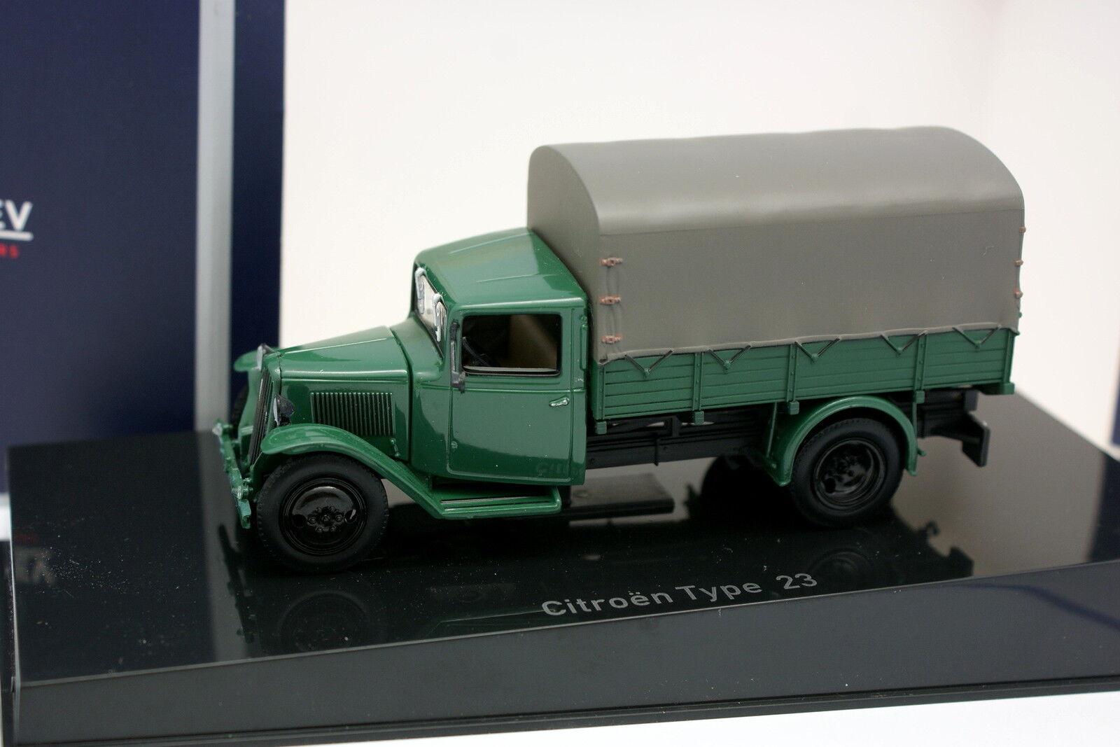 Norev 1 43 - Citroen Art 23 1946 green