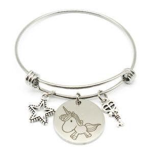 Animal-Bracelet-Unicorn-Dog-Elephant-Bangle-Lucky-Protection-Bangle-Friendship