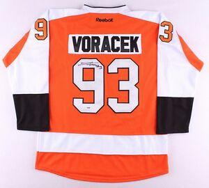 267bf3ee Image is loading Jakub-Voracek-Signed-Philadelphia-Flyers-Reebok-Jersey-PSA-