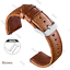 18mm-Quick-Release-Band-Leather-Strap-For-Gen-4-Smartwatch-Fossil-Q-Venture-HR thumbnail 48