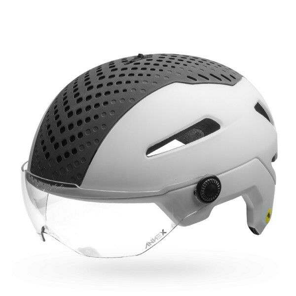 Bell-Annex Shield MIPS-equipped-Colour  White Matt-Size M (55  - 59 cm)  comfortably
