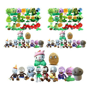 ZOMBIES Series PVZ Soft Plush Stuffed Doll Funny Toy S UK Personalise PLANTS vs