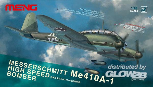 Meng - Messerschmitt Me-410A-1 High Speed Bomber Model Kit - 1 48 Nip