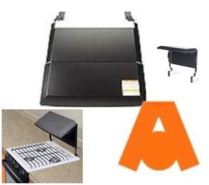 Atwood 54106 Bi Fold Cooktop Cover 3 Burner Black Ebay