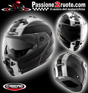 casque-casque-casque-capacete-casque-moto-Caberg-Duke-Legend-Noir-Blanc-taille-S