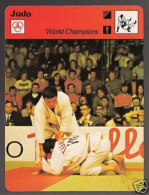 SHOZO FUJII Japan Judo World Champions 1978 SPORTSCASTER CARD 49-15