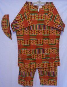 Men S Dashiki Clothing African Traditional Kente Pant Suit Ethnic