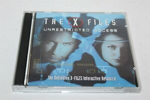 The-X-Files-Unrestricted-Access-PC-Game-1997-Fox-Interactive