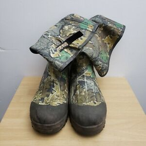 Guide Series Rubber Boots Mens 12 Thermal Insulate Camouflage