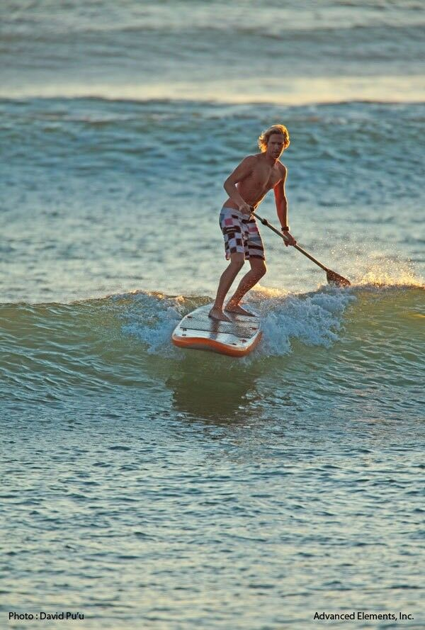 Stand Up Paddle board - oppusteligt, Advanced Elements -