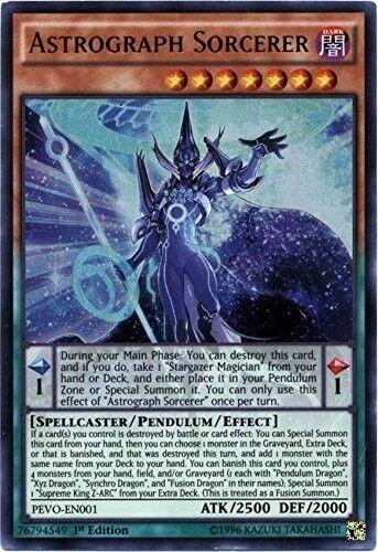 Astrograph Sorcerer PEVO-EN001 1st Yu-Gi-OH