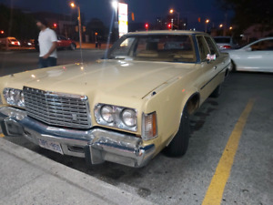 1976 Chrysler Newport excellent condition low kms