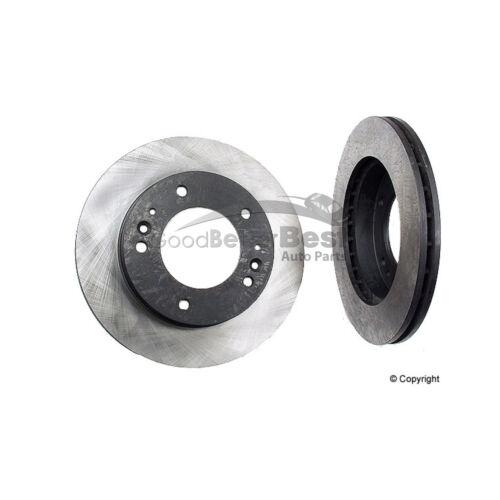 One New OPparts Disc Brake Rotor Front 40528001 0K1A3325XB for Kia Sportage
