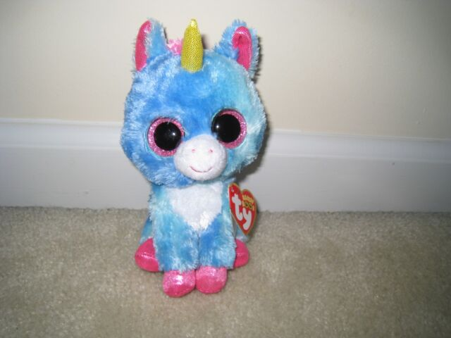 e19d1169a8d Ty Beanie Boo Stitches The Unicorn Michaels Excl. 6 Inches for sale ...
