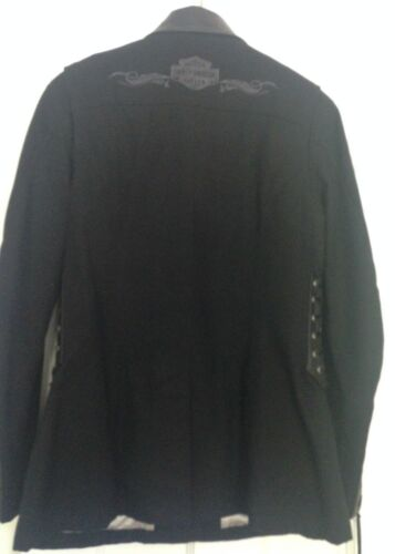 Ooak Jacket Women's Medium Davidson Item Fabric Harley Collector's PZHnq5xwn