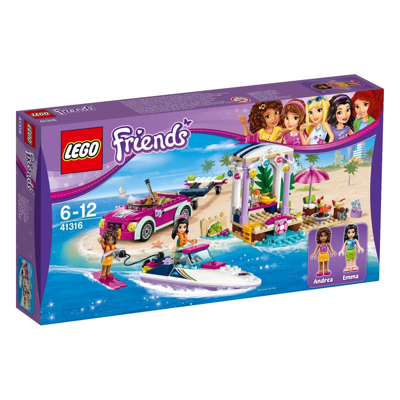 Lego Friends 41316 Neu Ovp New Misb Nrfb Rennboot Transporter