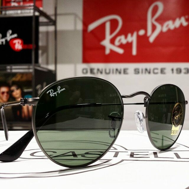76b1d8553 Sunglasses Ray Ban RB 3447 Round Metal Rb3447 Classic or Polarized ...