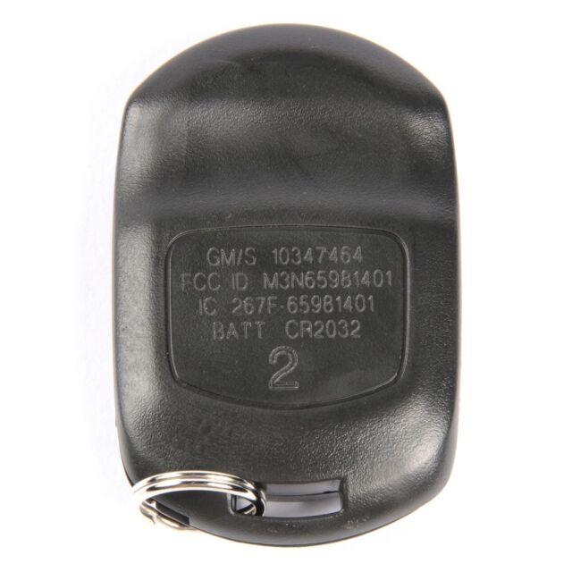 Key Fob ACDelco GM Original Equipment 10347464 Fits 2004