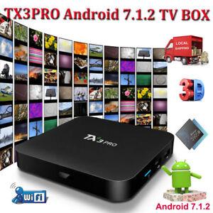 2018 TX3PRO S905W ANDROID 7.1.2 Nougat Smart TV BOX WIFI 4K Media Player MINI PC