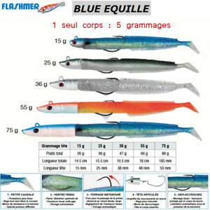 FLASHMER-BLUE-EQUILLE-Le-lancon-mode-texan-NAGE-TRES-REALISTE-new