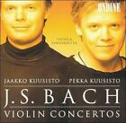 Bach: Violin Concertos (CD, Dec-2001, Ondine)