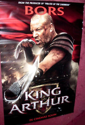 Cinema Banner King Arthur 2004 Bors Ray Winstone Ebay