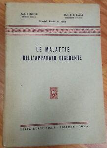 LE-MALATTIE-DELL-039-APPARATO-DIGERENTE-G-BASILE-R-BASILE-1951-EDITORE-POZZI