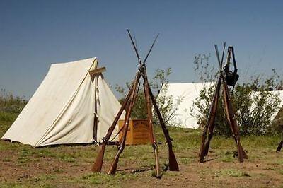 A - Tent Reenactment Keilzelt Mittelalter Ritter frame Bushcraft & survival ww2z